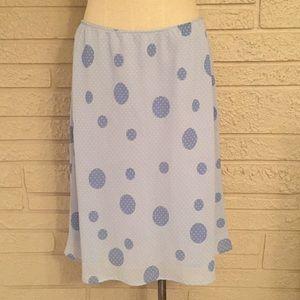 Mossimo Polka Dot A-Line Skirt